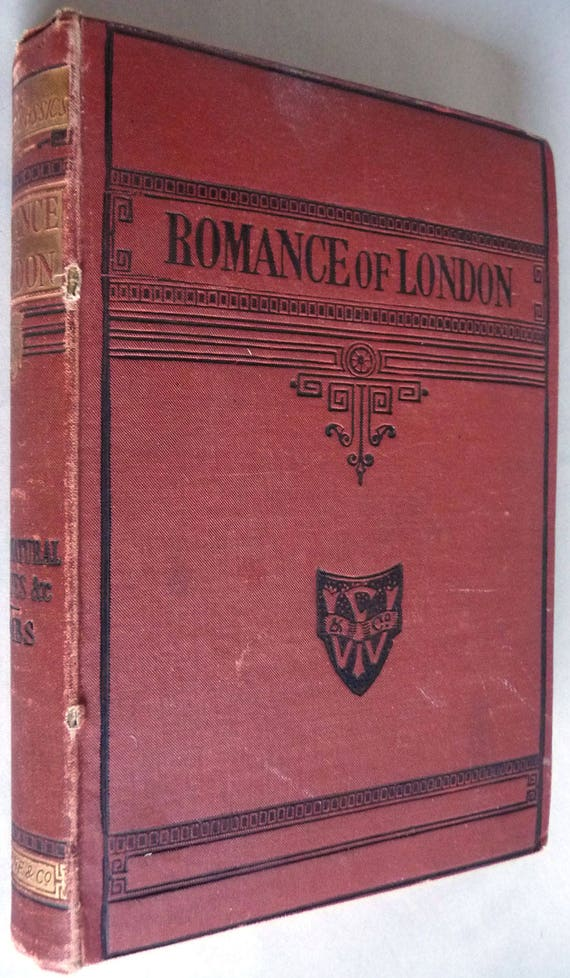 The Romance of London Supernatural Stories Sights & Shows Ca. 1870s by John Timbs - Antique History Happenings
