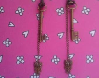 KEYhowl Earrings by Daysela