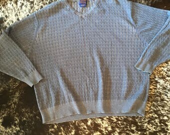Pendleton Sweater Cable Knit Wool Men's Sweater XL