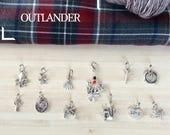 Outlander - Lot de 12 marqueurs pour votre tricot : 11 anneaux et 1 amovible