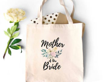 Mother of the Bride Tote, Mother of the Bride Gift, Mother In Law Gift, Engagement, Tote Bag, Gift for Mom of the bride