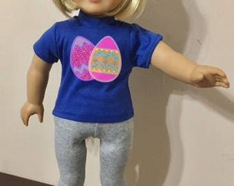 18 inch doll Easter basket filler Bunny Christian Love Cross Eggs shirts