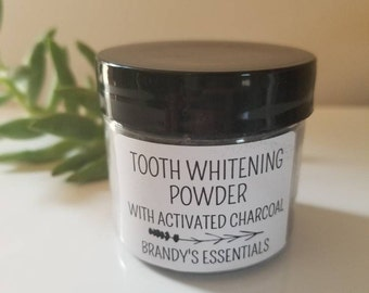 Tooth Whitening Powder with Activated Charcoal