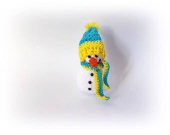 Amigurumi Snowman Crochet snowman Christmas Ornament christmas decoration Christmas Snowman Crohet snowman Home decor christmas gifts