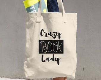 Bookish Tote Bag, Bag for Book Lover, Bookish Lady, Book Tote, Gift for Girlfriend Ideas, Bookworm Tote, Bookish Bag, Bookworm for Her