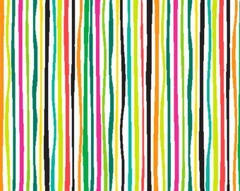 Andover Fabrics Rio - Bright Stripes by Jane Dixon - Sold by the Yard