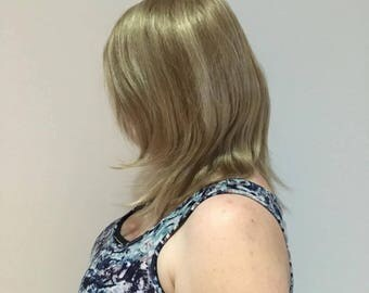 Medium Length Blond Henry Margu Wig