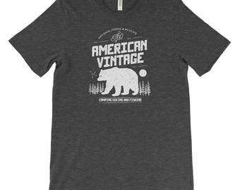 American National Parks Adventure Unisex Bella Canvas Tshirt