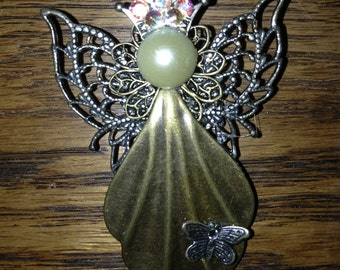 Butterfly Queen Brooch
