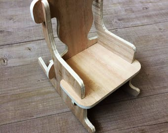 Rocking Chair for Doll