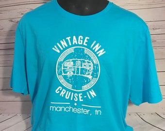 Vintage Inn Cuise Inn Shirt/ Vintage Camper/ Cruise-In/ Camper rally