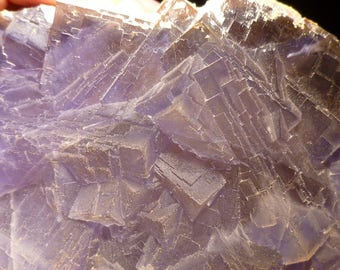 Large Bluish Purple Fluorite from Pakistan