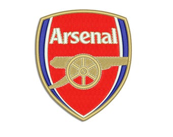 Arsenal - Machine embroidery design