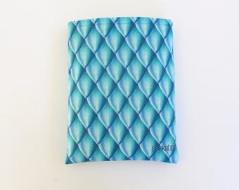 Dragon Scales Azure book sleeve