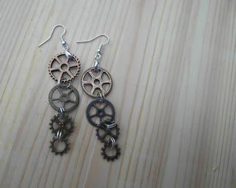 Minimalist Earrings/ for girlfriend / dainty earrings/ delicate earrings/ dangle earrings/  gift for girlfriend/ boho earrings  for her