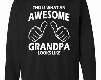 This Is What An Awesome Grandpa Looks Like Sweatshirt Jumper