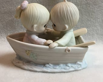 Enesco Precious Moments - 'Friends Never Drift Apart' (#249)