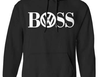 Volkswagen hoodie, VW hoodie, VW logo, car badge, vw badge tee, Volkswagen, car guy gift, car gift, vw gifts, vw clothes, 986