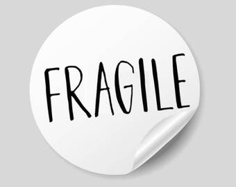 Avery brand template etsy printable fragile stickers 1 inch round avery template 8293 pretty packaging ideas pronofoot35fo Gallery