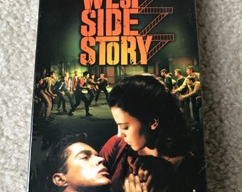 West Side Story Vintage Movie Musical w/Natalie Wood VHS 1961 Sealed NEW