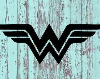 Wonder Woman Decal/Wonder Woman/WW/DC Comics/Justice League