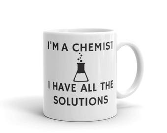 Funny Chemistry Mug, Chemistry Gifts, Funny Science Mug, Science Gifts, Chemistry Teacher Mug, Science Teacher Mug