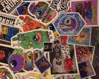 Random Sticker PACK (comes with 5-7 slaps)