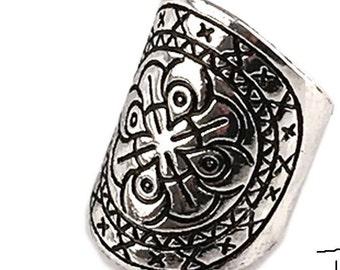 Mandela Silver Ring