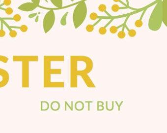 Tester Do NOT buy