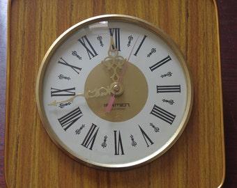 Wall clock Vintage Iramen Electronic 70s / 70's IRAMEN ELECTRONIC Vintage Wall Clock