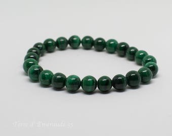 Malachite Beads Bracelet