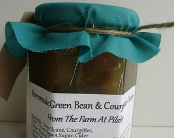 Homemade Green Bean & Courgette Chutney