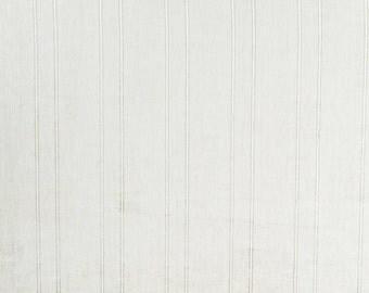 Katheryn Ireland Sheer Stripe White- L 76in x W 62in