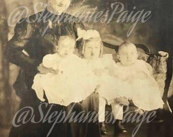 Early 1900's | Antique Photo | sepia tone