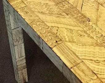 Custom Parsons Console Table