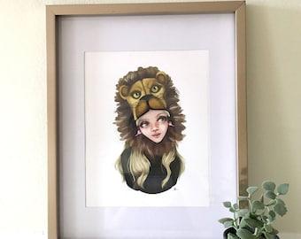 Luna Lovegood print