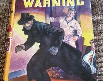"""The Hardy Boys - """"The Secret Warning"""" hardcover book"""