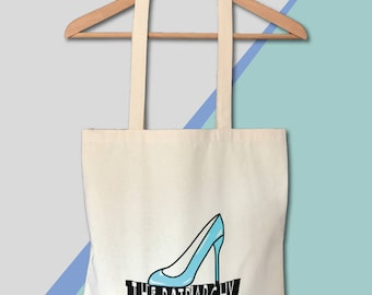 Feminist Tote Stamp the Patriarchy Screen Printed Canvas Bag