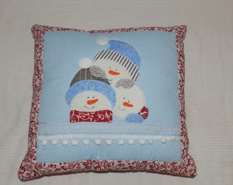 Winter pillow