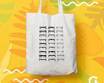Tote bag glasses (Top, Unisex, Instagram, Tumblr, Pinterest, surf, beachlife, glasses)