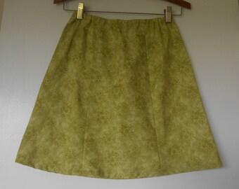 Girls Green Size 7 Skirt