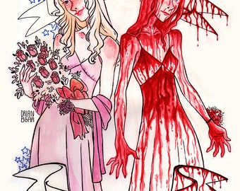 """Carrie White """"They're all gonna laugh at you"""""""