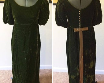 Vintage 70's does Edwardian dress