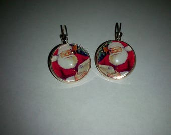 Christmas theme earrings