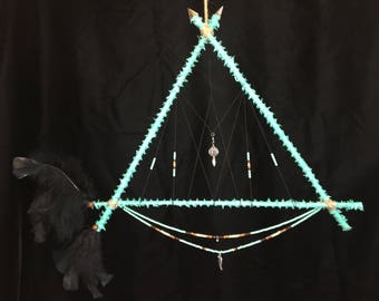 Double Arrows Dream Catcher Handcrafted by ArtisansIQ