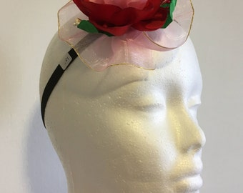 Flower Elastic headband.1