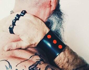 Rubber Wrist Cuff  - Fetish Wear