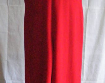 Dusk Eveningwear Jumpsuit Red Sequinned Glamorous 1990s
