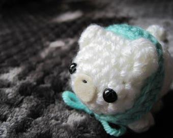 Mini Chibi Polar Bear Amigurumi