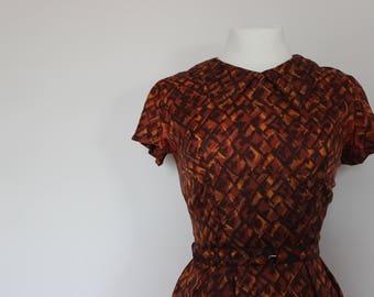 1950's Two-piece Dress and Bolero Jacket set